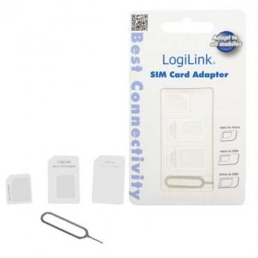 Logilink AA0047 Dual Sim Card Adapter