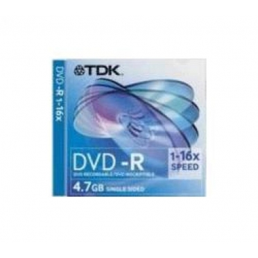 TDK DVD-R 16x 4.7GB Jewel Case