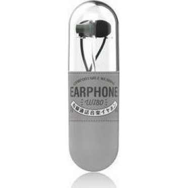 WK Wi80 Fashion Earphones with Microphone Dark Green