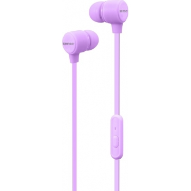 Senso Handsfree HF10 Stereo Earphones Purple
