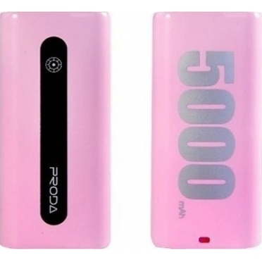 Remax Proda E5 5000mAh Power Bank Pink