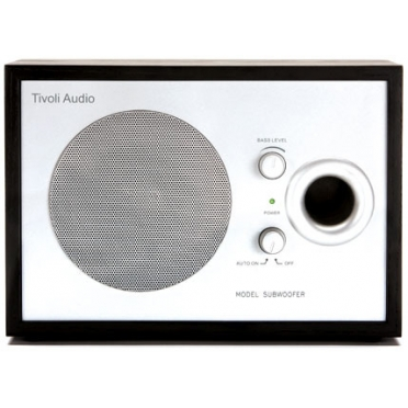 TIVOLI MODEL SUBWOOFER BLACK/SILVER MSBLK