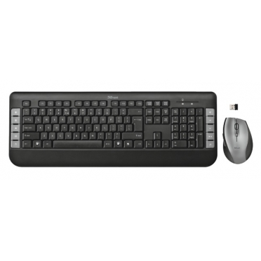 Trust Tecla Wireless Multimedia Keyboard & Mouse 18053