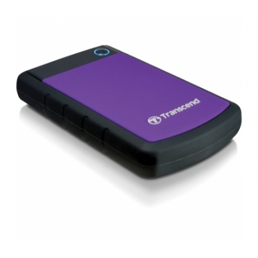 "Transcend StoreJet 2.5"" 1TB Purple/Black USB 3.0 Rugged (TS1TSJ25H3P)"