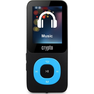 Crypto MP1800 Plus 64GB (up to 16000 songs) Black/Blue