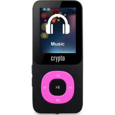 Crypto MP1800 Plus 64GB (up to 16000 songs) Black/Fuchsia