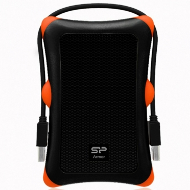 "Silicon Power HDD 2.5"" 1TB Armor A30 Black (SP010TBPHDA30S3K)"