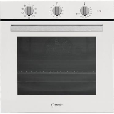 Indesit IFW 6834 WH Φούρνος Άνω Πάγκου White