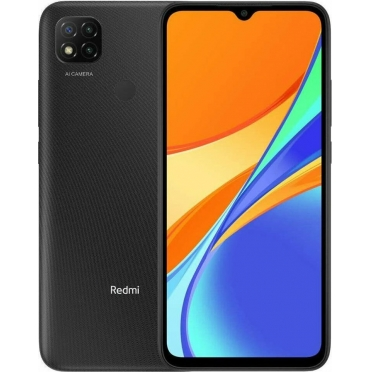 Xiaomi Redmi 9C NFC 32GB Midnight Gray Dual Sim Κινητό Smartphone