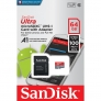 SanDisk Ultra Android microSDXC 64GB + SD Ad CL.10 100MB/s